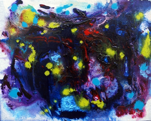 Painting on sale entitled Electric Pulses
